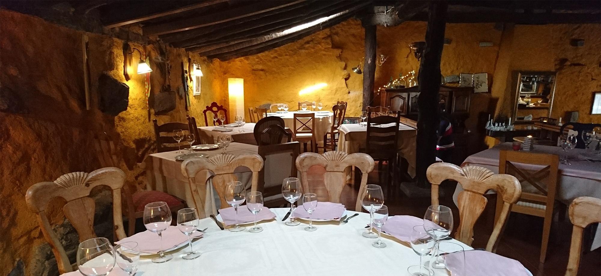 Salón superior del Restaurante El Zaguán
